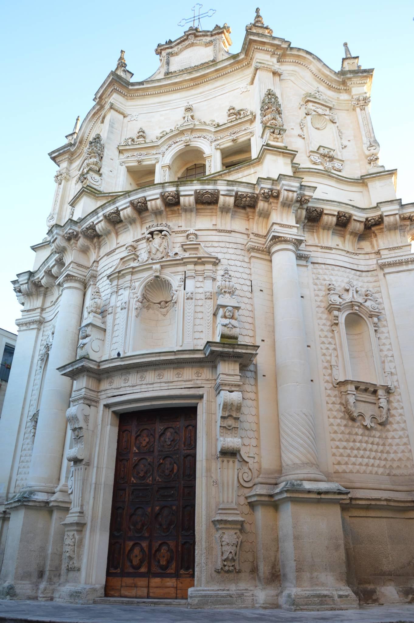 """Le attrazioni di Lecce """"Chiesa di San Matteo"""""""